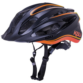 Kali Alchemy Fietshelm, matte black/orange